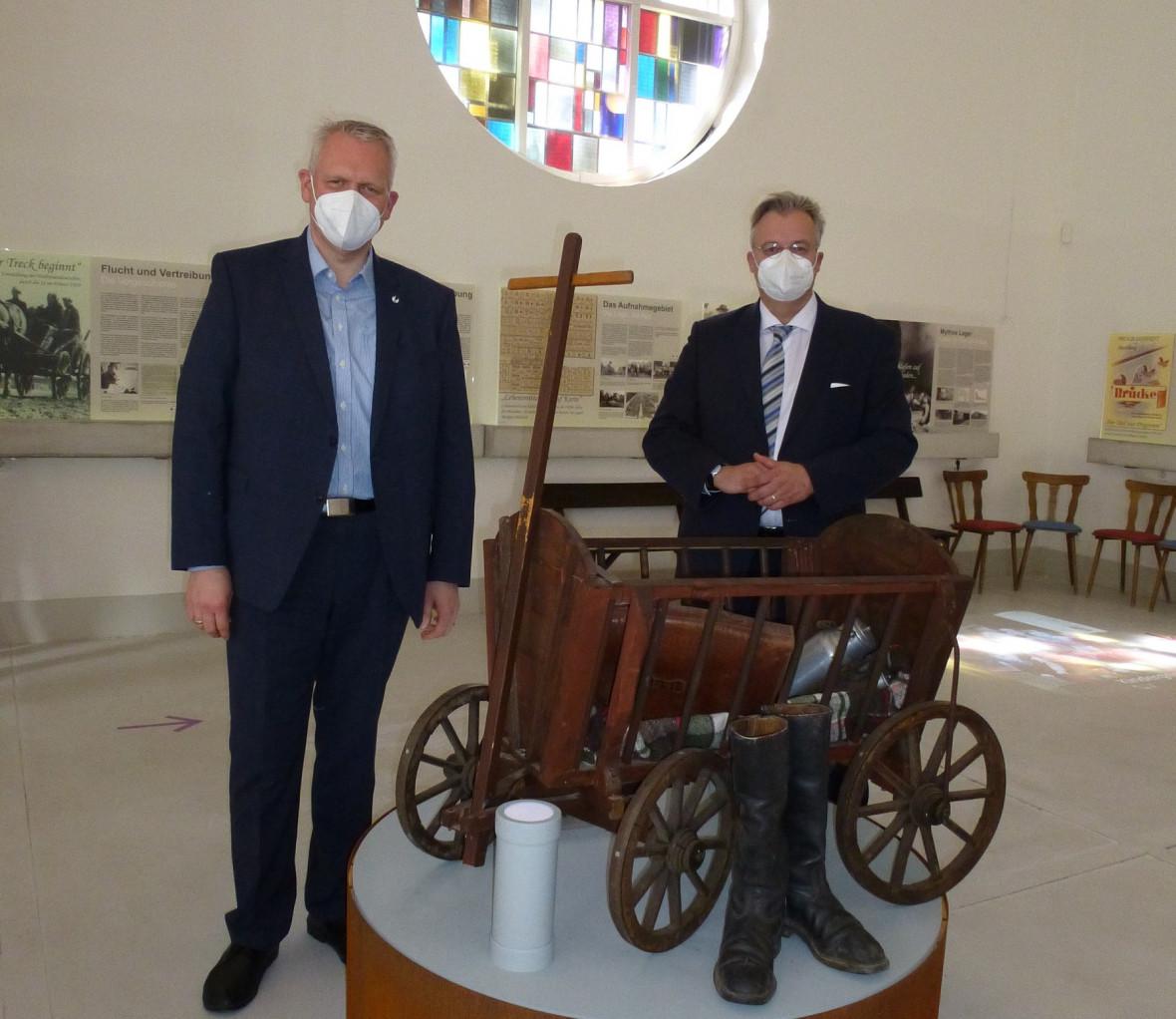 Björn Thümler (li.) und Heiko Schmelzle (re.). Foto: privat.